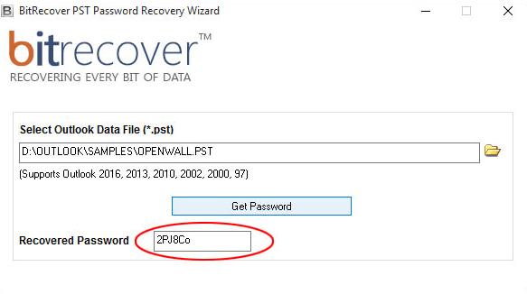 10 outils pour recuperer un mot de passe Outlook PST