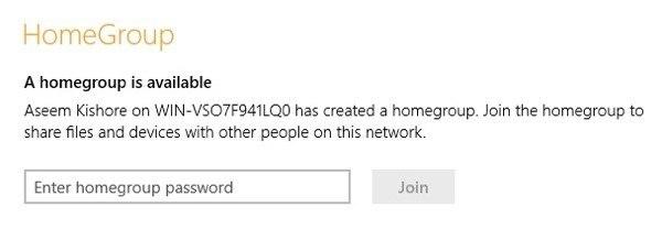 1607464896 975 Rejoignez Windows 7 HomeGroup a partir de Windows 8