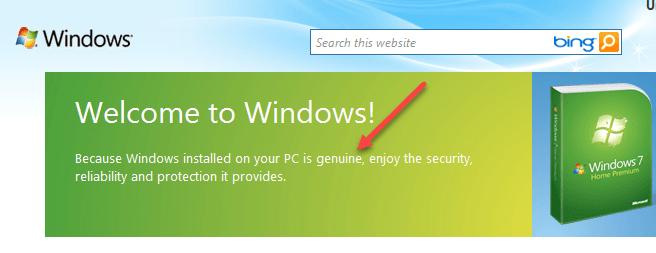 1607602557 952 Comment verifier si Windows 7 est authentique