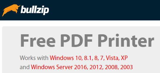 7 écrivains PDF et imprimantes PDF gratuits