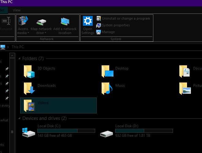 1608280059 403 Comment activer le mode sombre partout sur Windows 10