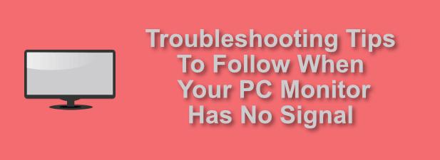 6 Conseils de dépannage lorsque le moniteur de votre PC n'a pas de signal