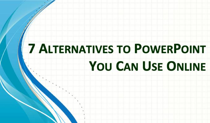 7 alternatives a PowerPoint que vous pouvez utiliser en ligne