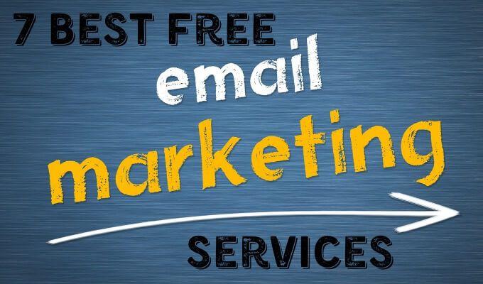 7 meilleurs services de marketing par e mail gratuits septembre 2020