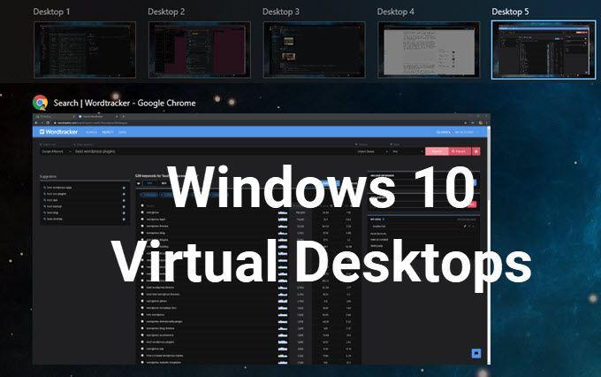 Comment configurer des bureaux virtuels dans Windows 10