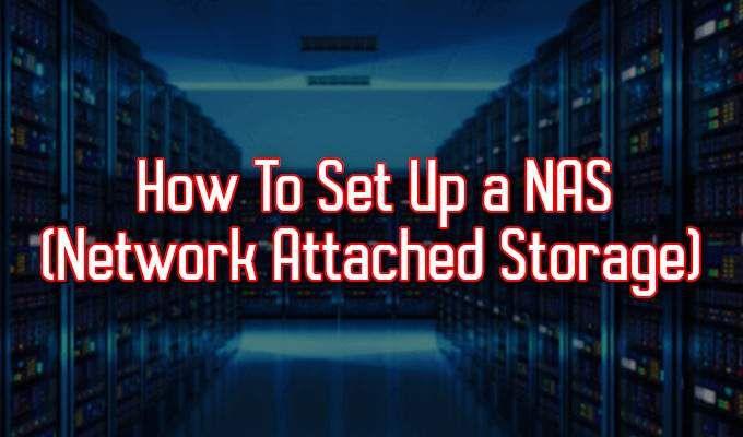 Comment configurer un NAS stockage en reseau