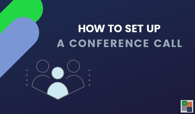 Comment configurer une conference telephonique