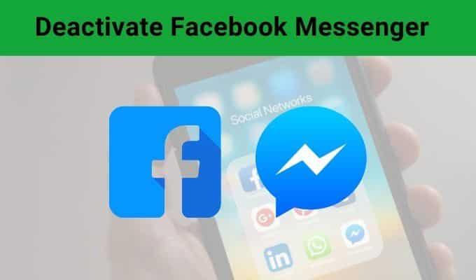 Comment desactiver Facebook Messenger