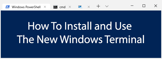 Comment installer et utiliser le nouveau terminal Windows 10