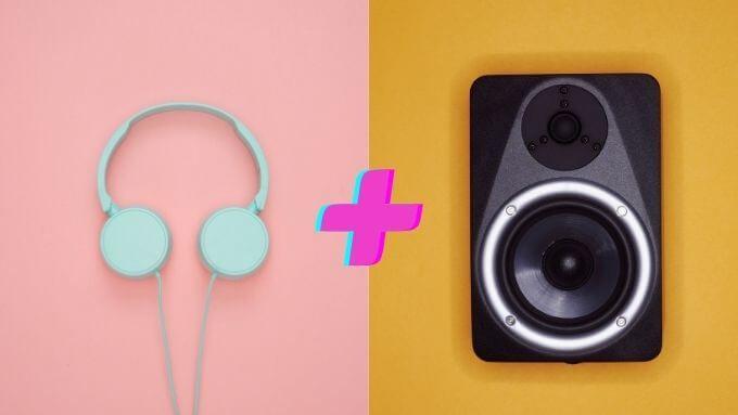 Comment lire du son sur des ecouteurs et des haut parleurs