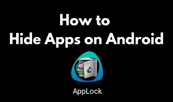 Comment masquer les applications sur Android
