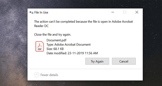 Comment ouvrir un fichier verrouille lorsquun autre programme lutilise