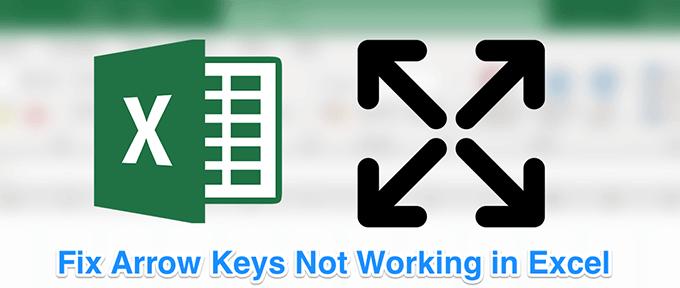 Comment réparer les touches fléchées ne fonctionnant pas dans Excel