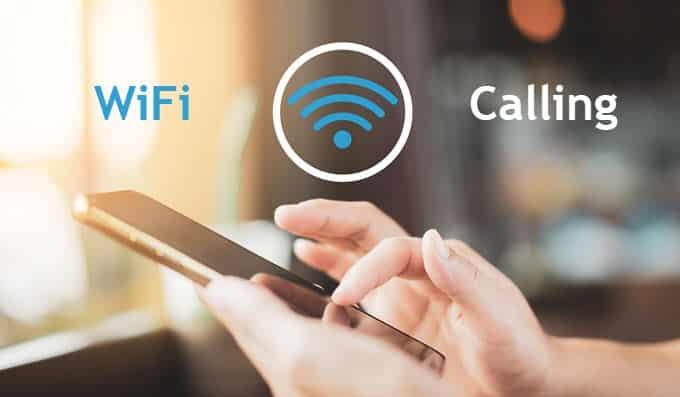 Comment utiliser le WiFi pour passer des appels sur un