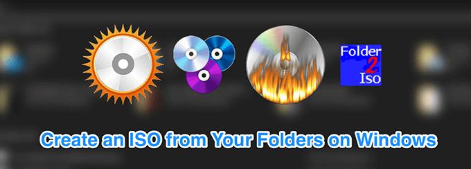 Creer un fichier ISO a partir dun dossier sous Windows