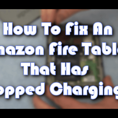 Comment réparer la tablette Amazon Fire qui ne se charge pas