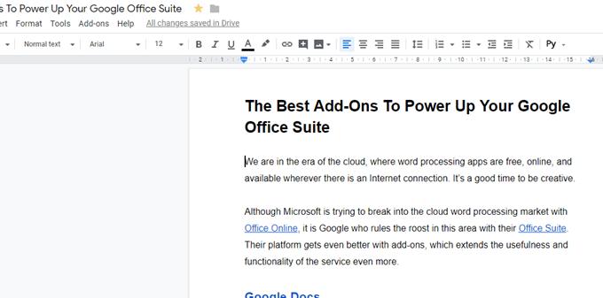 Les meilleurs modules complémentaires pour alimenter votre suite Google Office