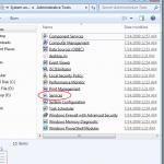 Open Windows 7 Services thumb