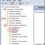 Open up Desktop in Local Group Policy Editor thumb