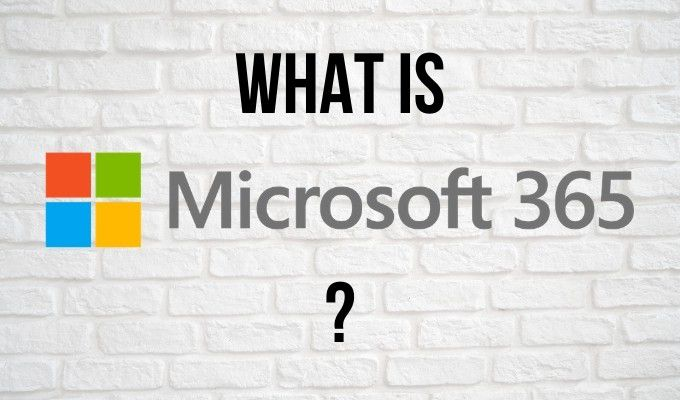 Quest ce que Microsoft 365