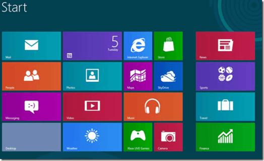 Windows 8 Start Menu thumb1