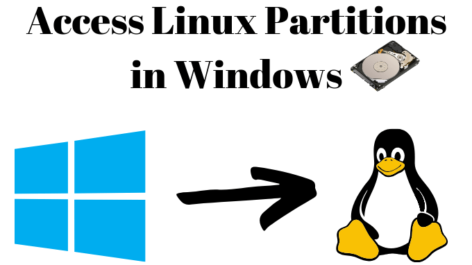 cropped Access Linux Partitions in Windows
