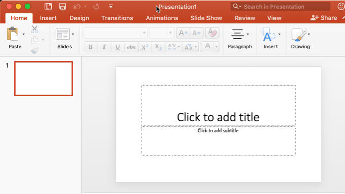 cropped powerpoint