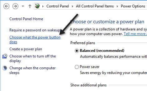 power options1